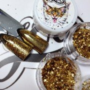 """PIGMENT """"FLAKES"""" GOLD"""