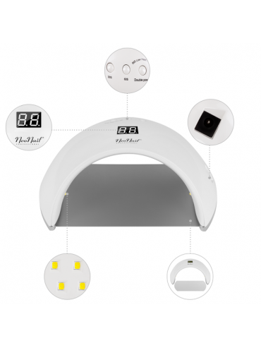 LED Lampe 24/48 W- ECO - weiß