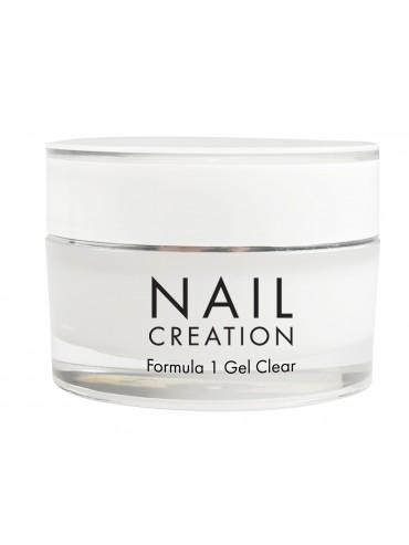 Formula 1 – Clear – 50 ml Modellage Gel Nail Creation