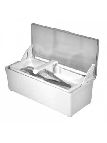 Instrumentenbehälter 1,2 Ltr mit Deckel & Sieb