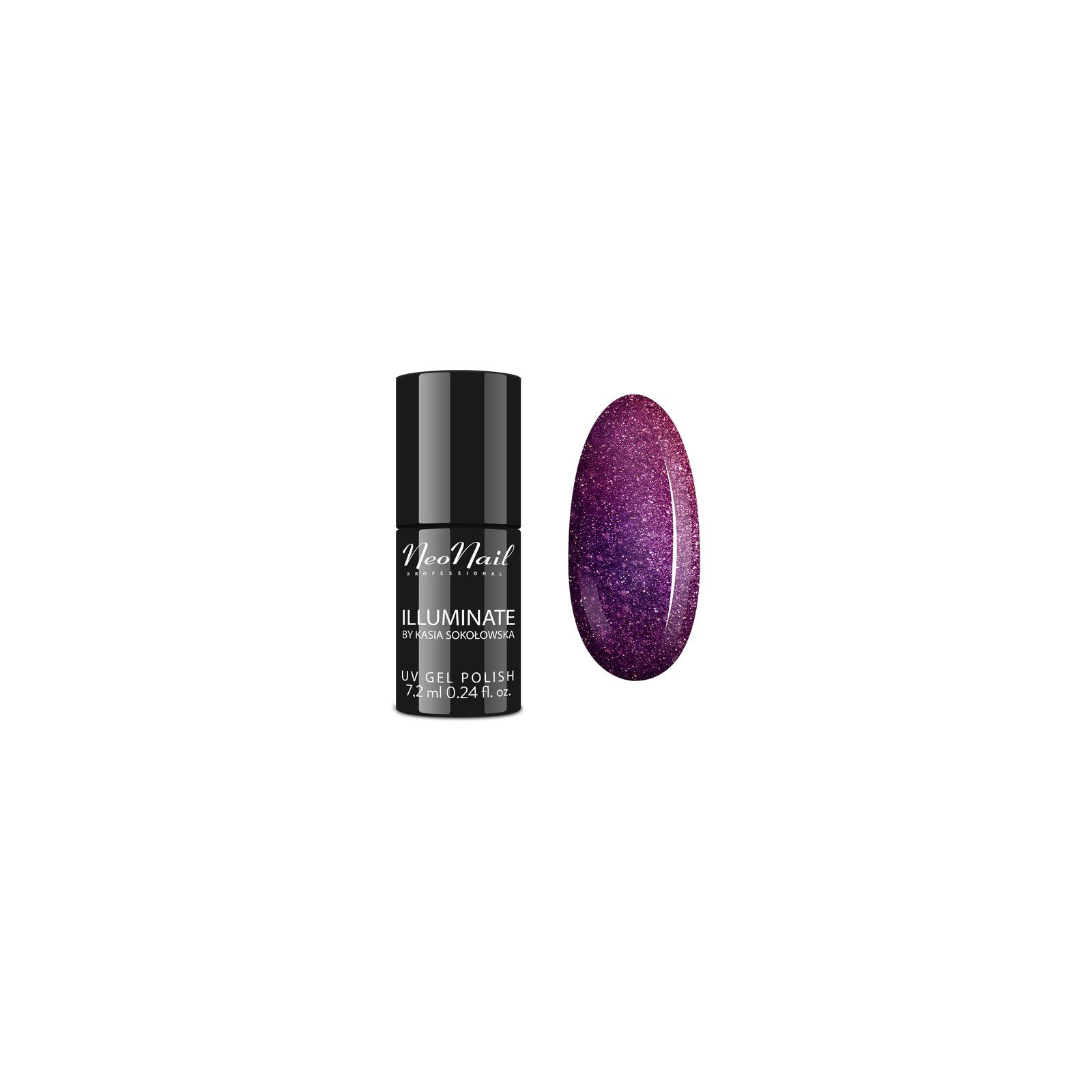 UV Nagellack 7,2 ml - Purple Opal Neonail