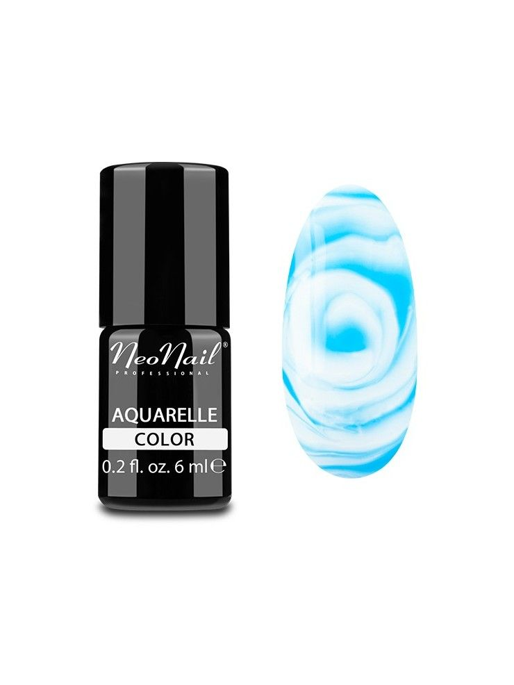 Blue Aquarelle - UV Nagellack 6 ml Neonail