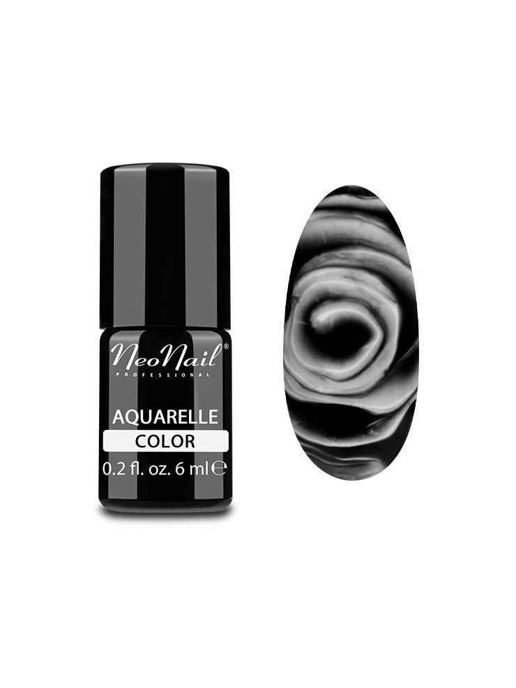 Black Aquarelle - UV Nagellack 6 ml Neonail